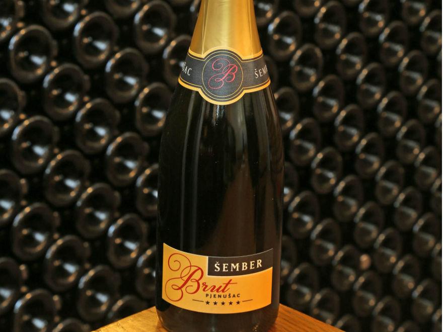 Šember Brut champagne