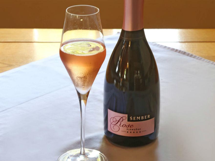 Šember Brut Rosé champagne